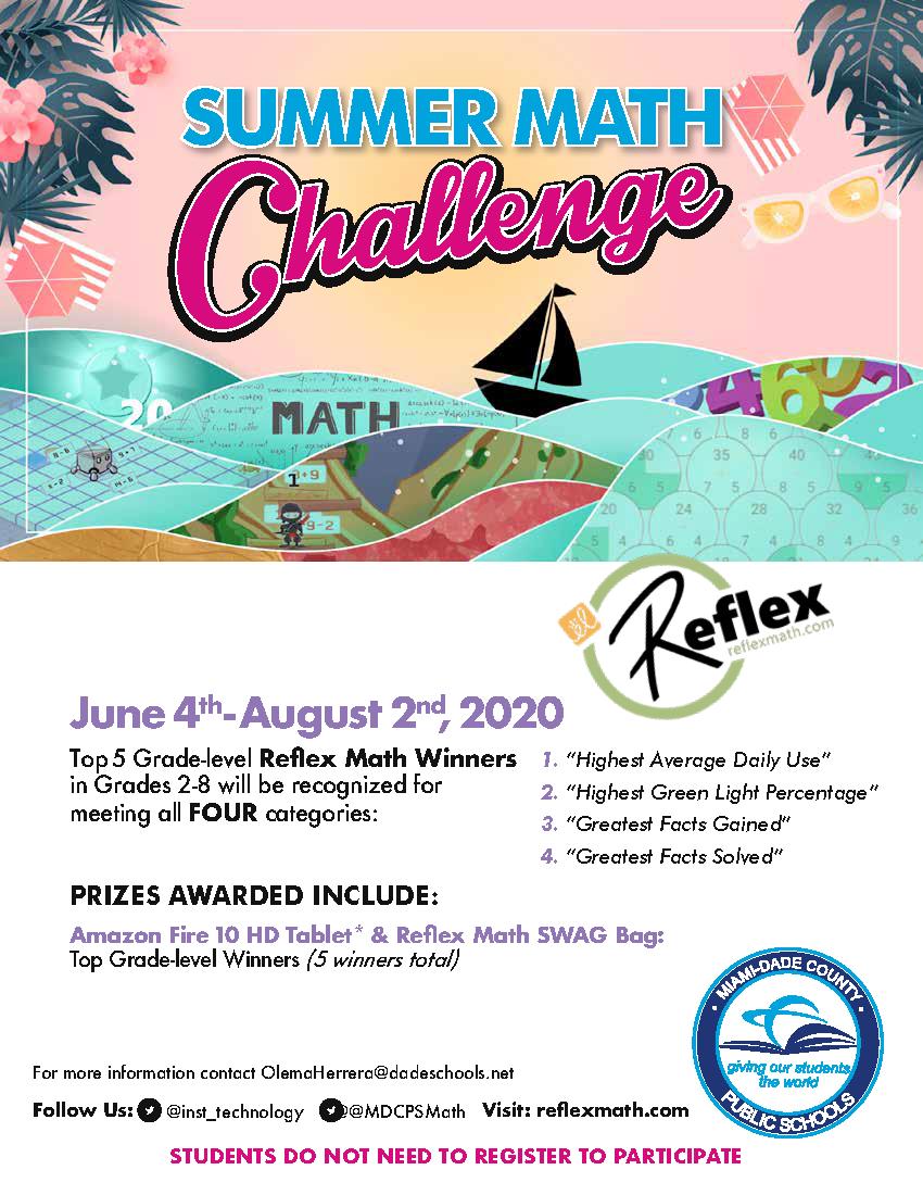 Reflex Challenge Flyer